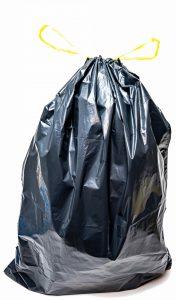 Worki na śmieci z taśmą ściągającą